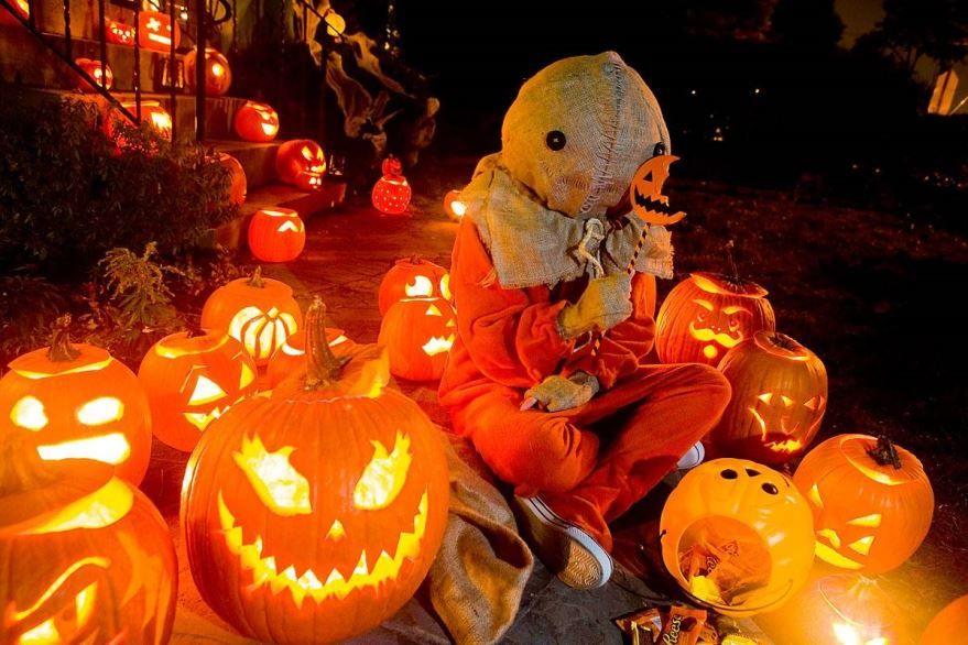 День праздника Хэллоуин