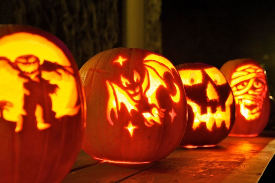 Праздник Хэллоуин фото