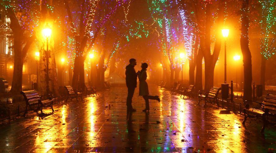 Подарок парню на день рождения - Романтическая прогулка