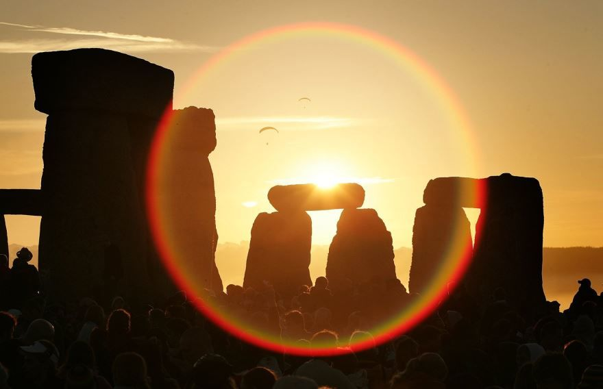 Красивая картинка Летнего солнцестояния