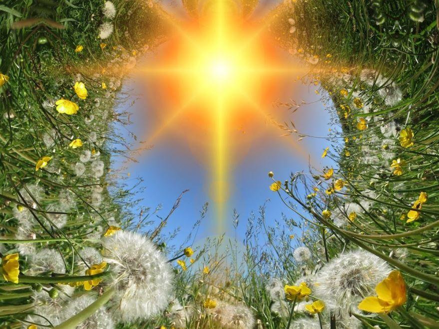 День Летнего солнцестояния картинка