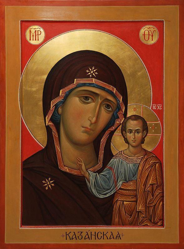 21 июля церковный праздник в России - Казанской иконы Божьей матери
