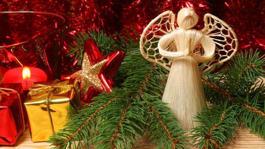 Скачать картинку с католическим Рождеством