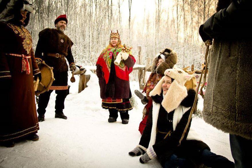 Народные праздники Коляда