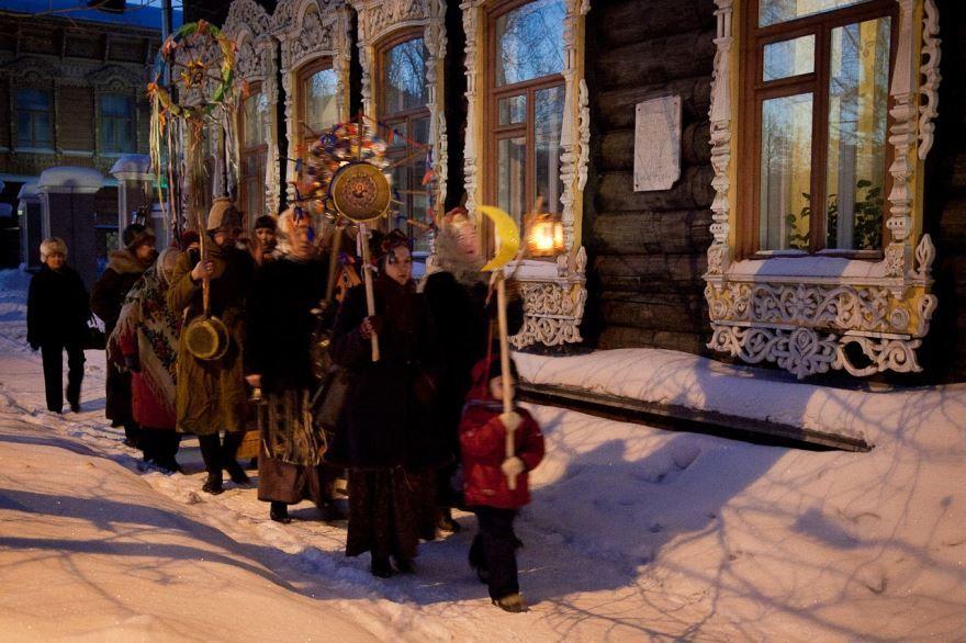 Праздник Коляда у славян