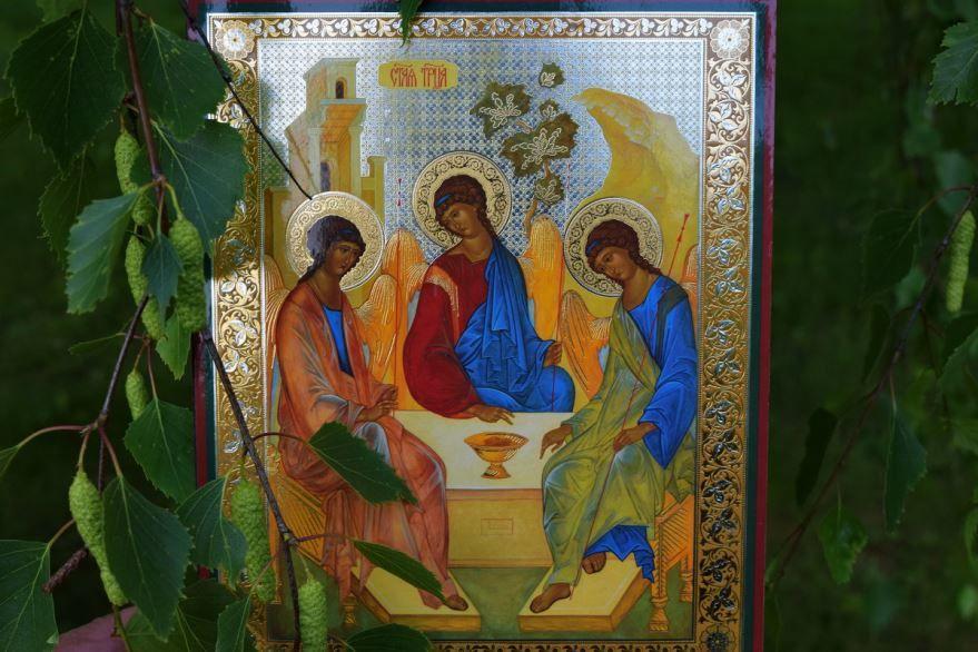 День Святой Троицы картинка