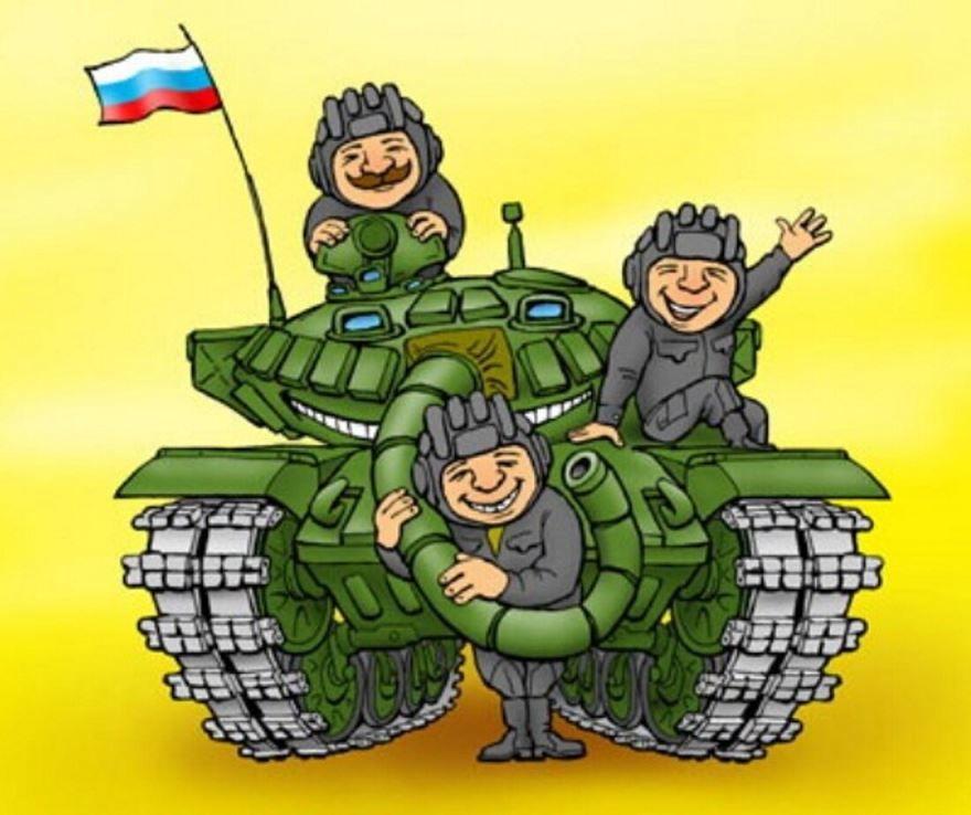 День танкиста, прикольная картинка