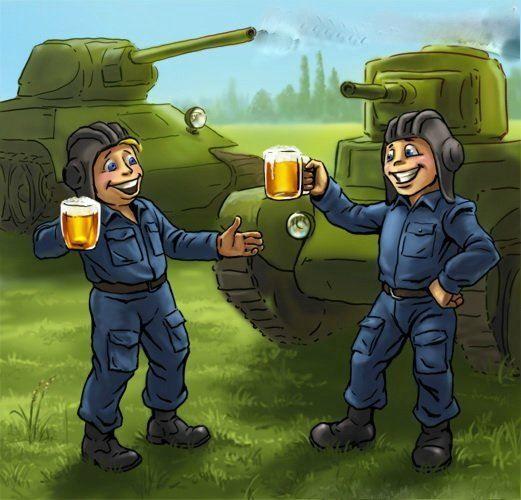 Картинки с днем танкиста, прикольные