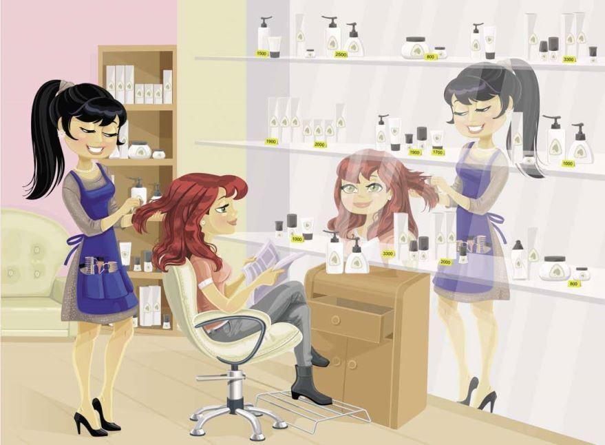 Открытки с днем парикмахера, женщине