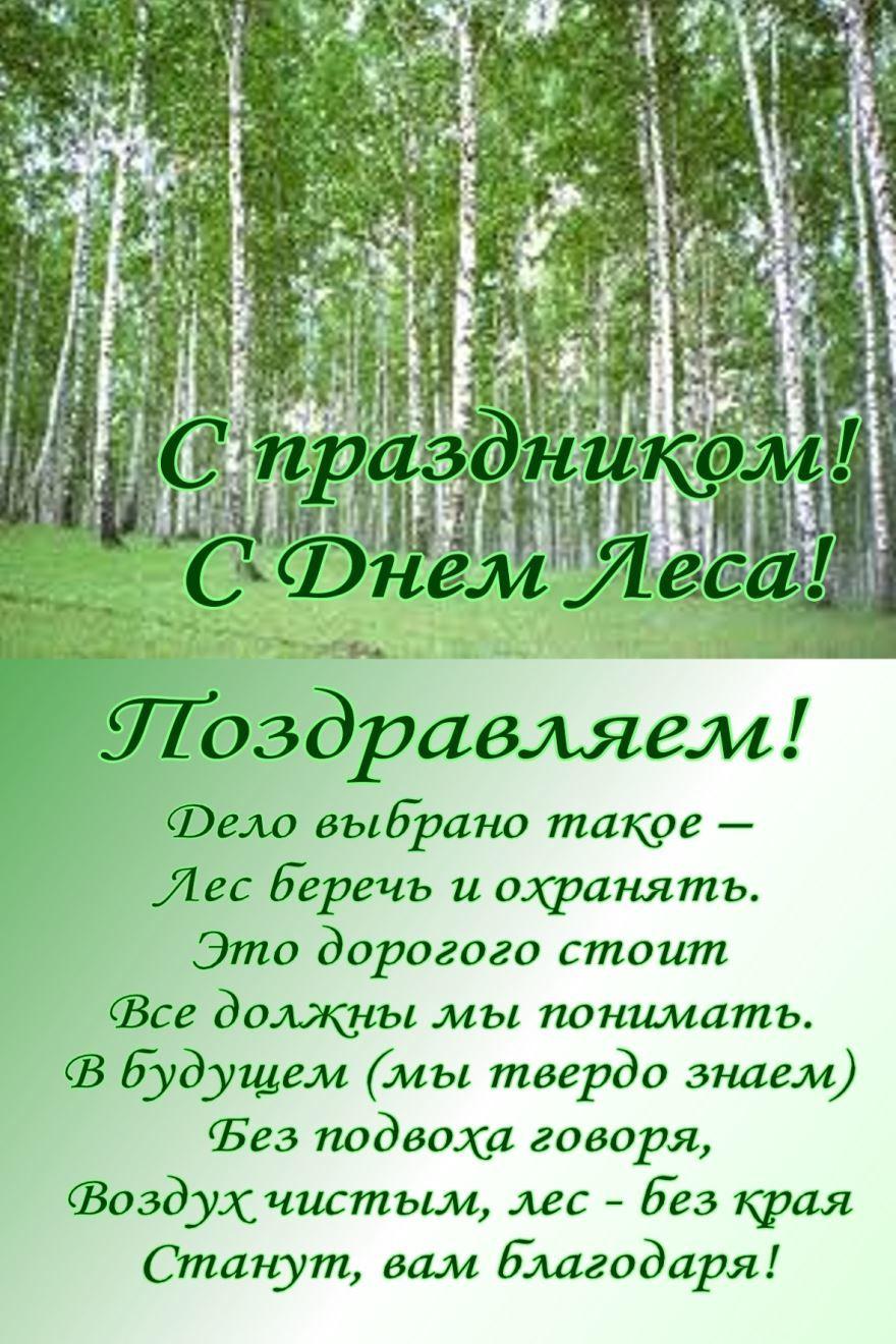 20 сентября день работников леса