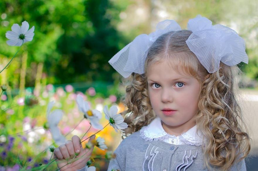 Прическа девочке на 1 сентября, 1 класс