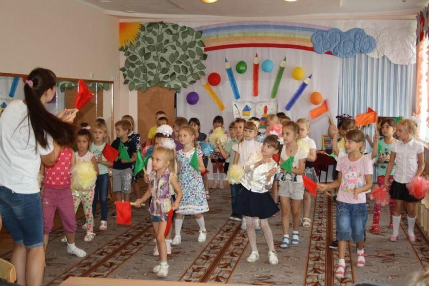 Праздник 1 сентября в детском саду