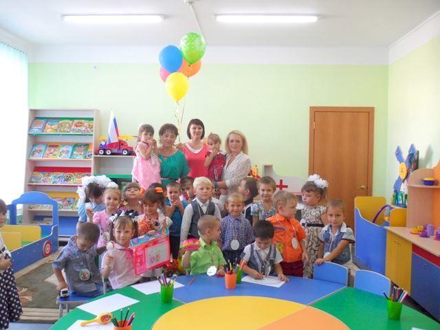 Праздник в детском саду - 1 сентября