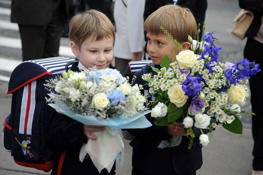 Мальчики на 1 сентября, фото