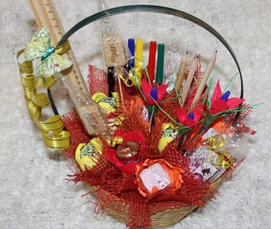 Подарок учителю на 1 сентября, вместо цветов