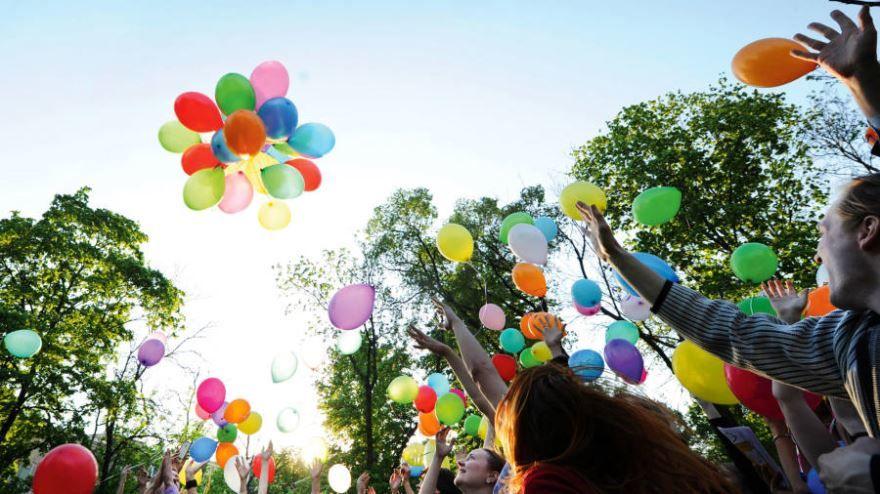 Запуск шаров на 1 сентября