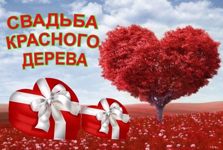 Свадьба красного дерева, картинка