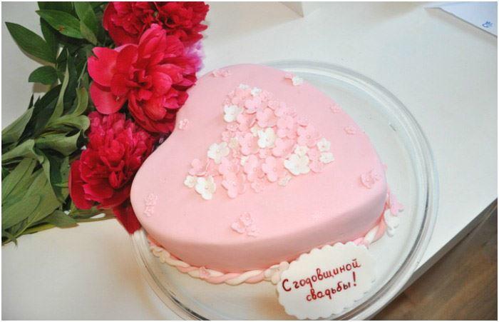 41 год Свадьбы, торт