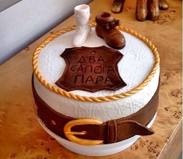 Подарок на годовщину Свадьбы, своими руками торт