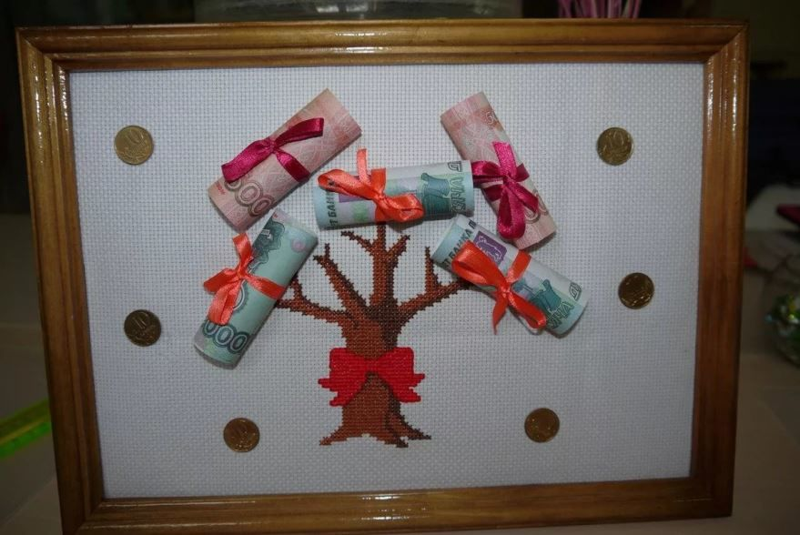 Подарок своими руками на Свадьбу