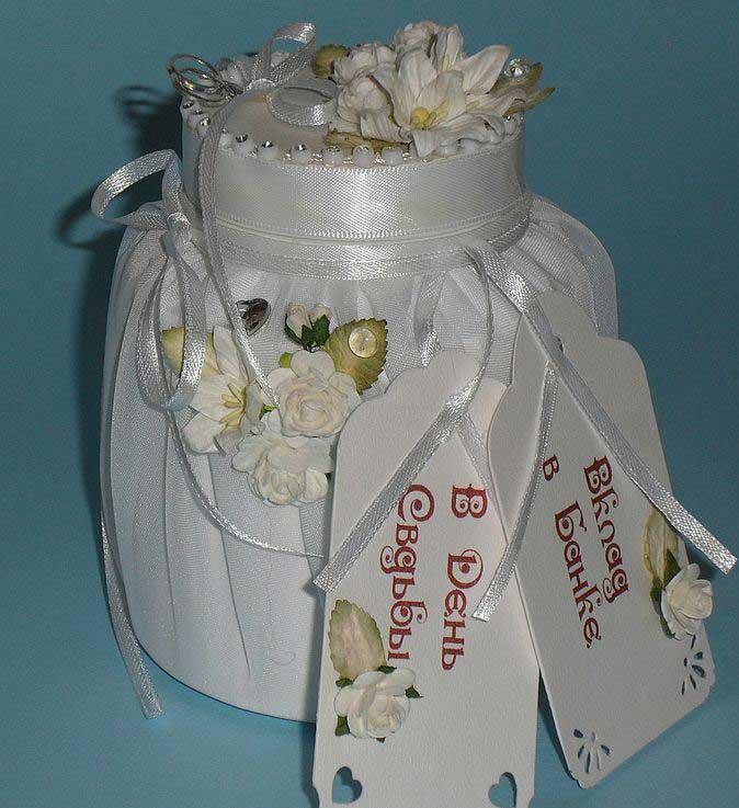Прикольный подарок молодоженам на Свадьбу, своими руками