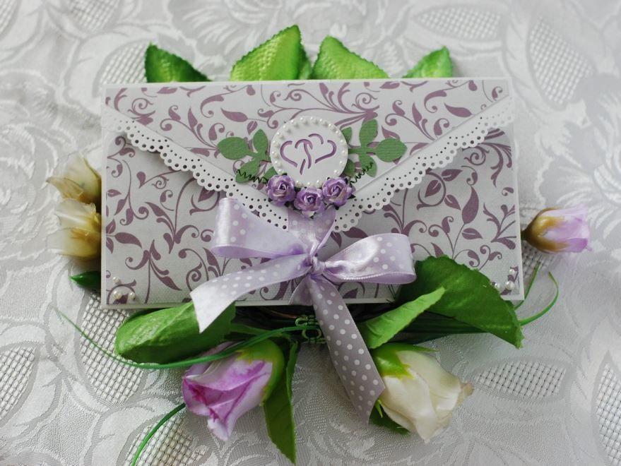 Подарок на Свадьбу молодоженам, конверт с деньгами