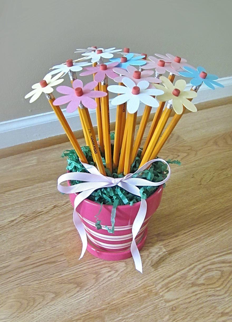 Подарок на день учителя, сделанный руками детей