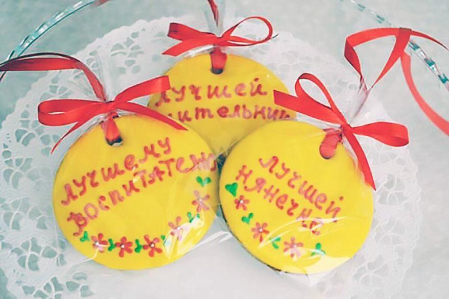 Оригинальные подарки воспитателю и дошкольным работникам, своими руками