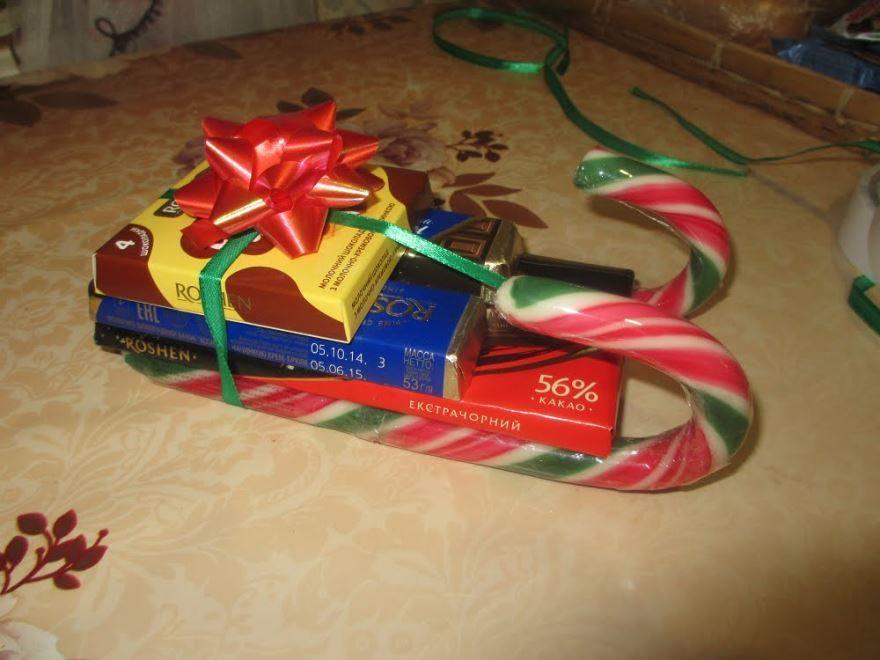 Идеи сладких подарков на Новый год, своими руками