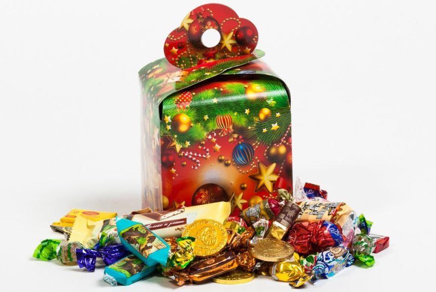Сладкие, вкусные подарки детям на Новый год