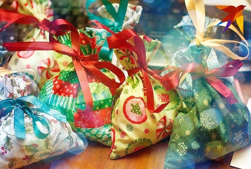 Идеи сладких подарков детям на Новый год