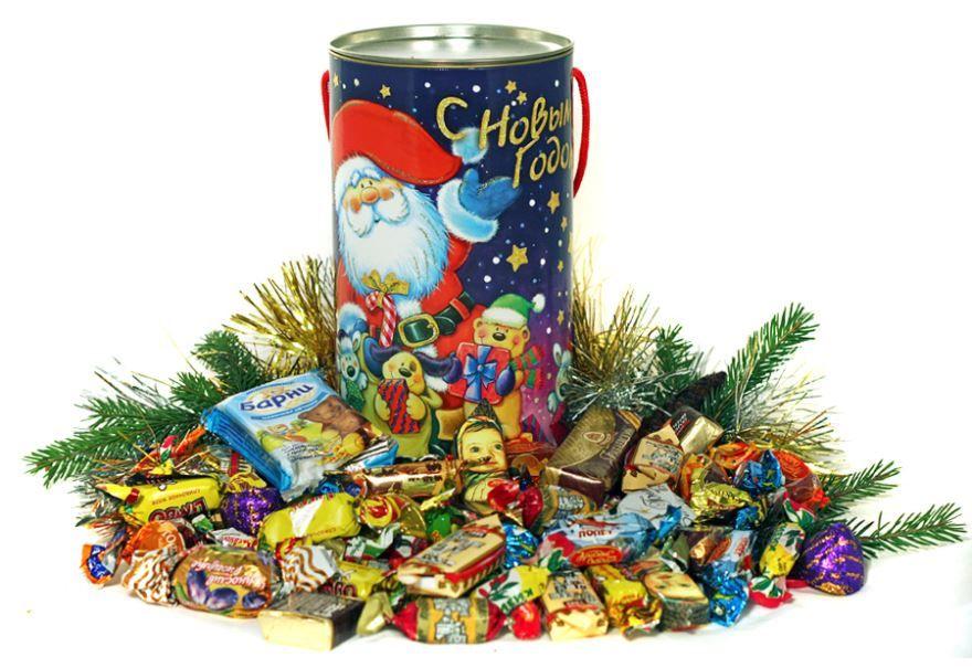 Сладкие подарки на Новый год детям