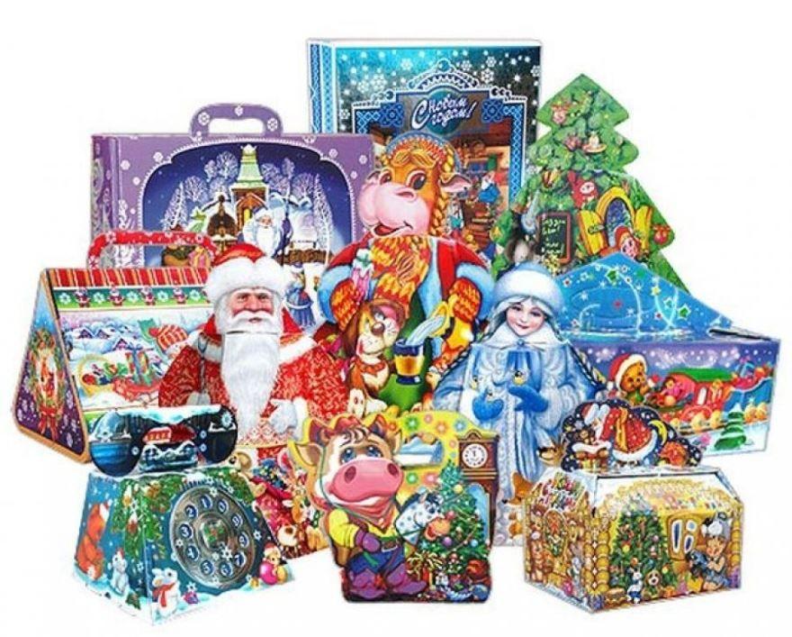 Идеи оригинальных сладких подарков для детей на Новый год