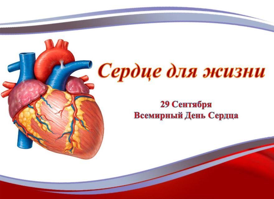 29 сентября - Всемирный день сердца, картинки