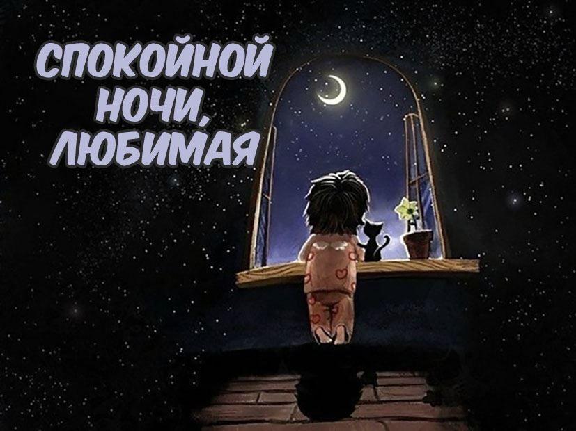 Доброй ночи, любимая