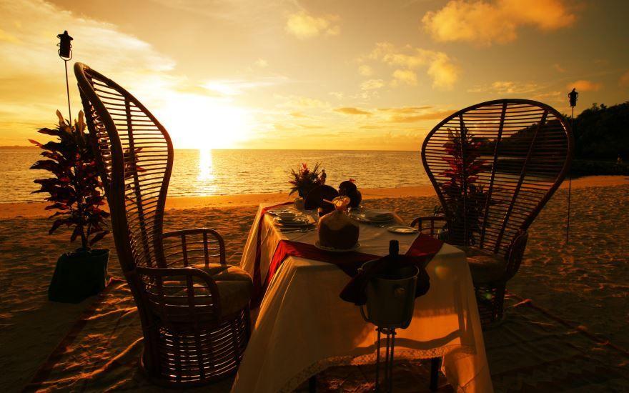 Романтическая картинка - доброго летнего вечера
