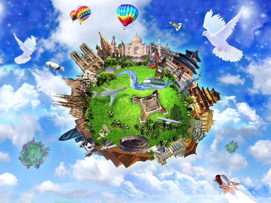 Всемирный день городов, открытка бесплатно