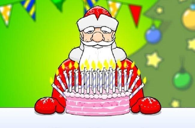 Картинка Деду Морозу с днем рождения