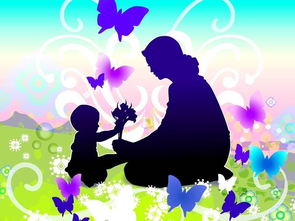 Скачать картинку с днем матери