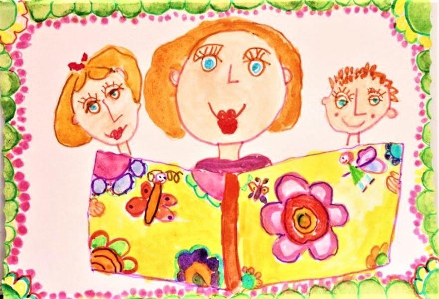 Рисунки ко дню матери в детский сад