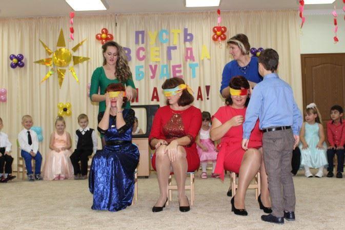 Праздник день матери в детском саду, фото