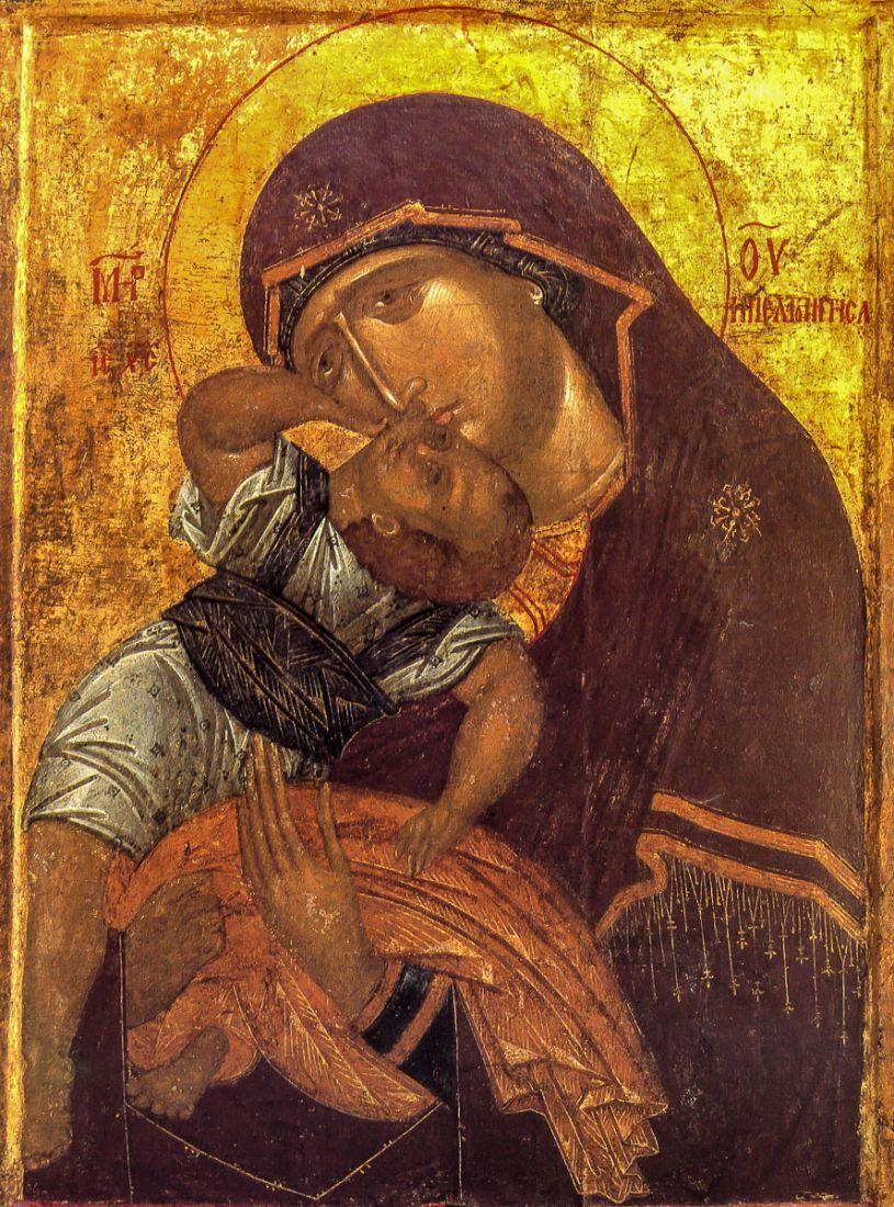 День Иконы Божией Матери - Взыграние младенца