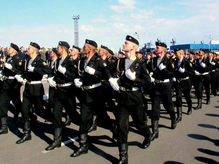 27 ноября в России - день морской пехоты