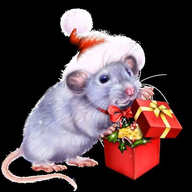Новый год 2032 - год металлической мыши