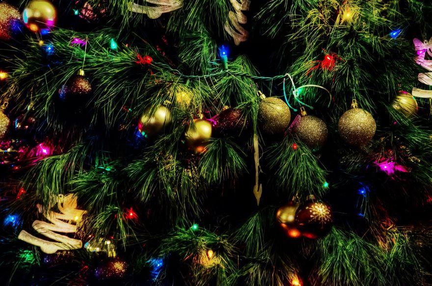 Большие Новогодние шары на елку