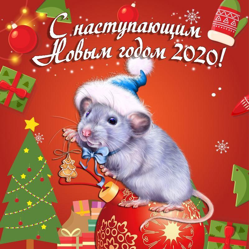 С Наступающим Новым годом картинки красивые