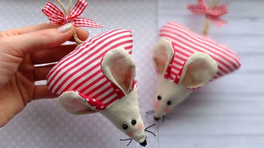 Мыши и крысы к Новому году своими руками