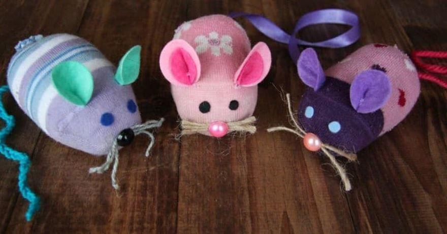 Поделки мышки своими руками на Новый год