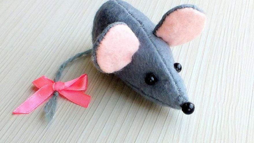 Крыса на Новый год, своими руками