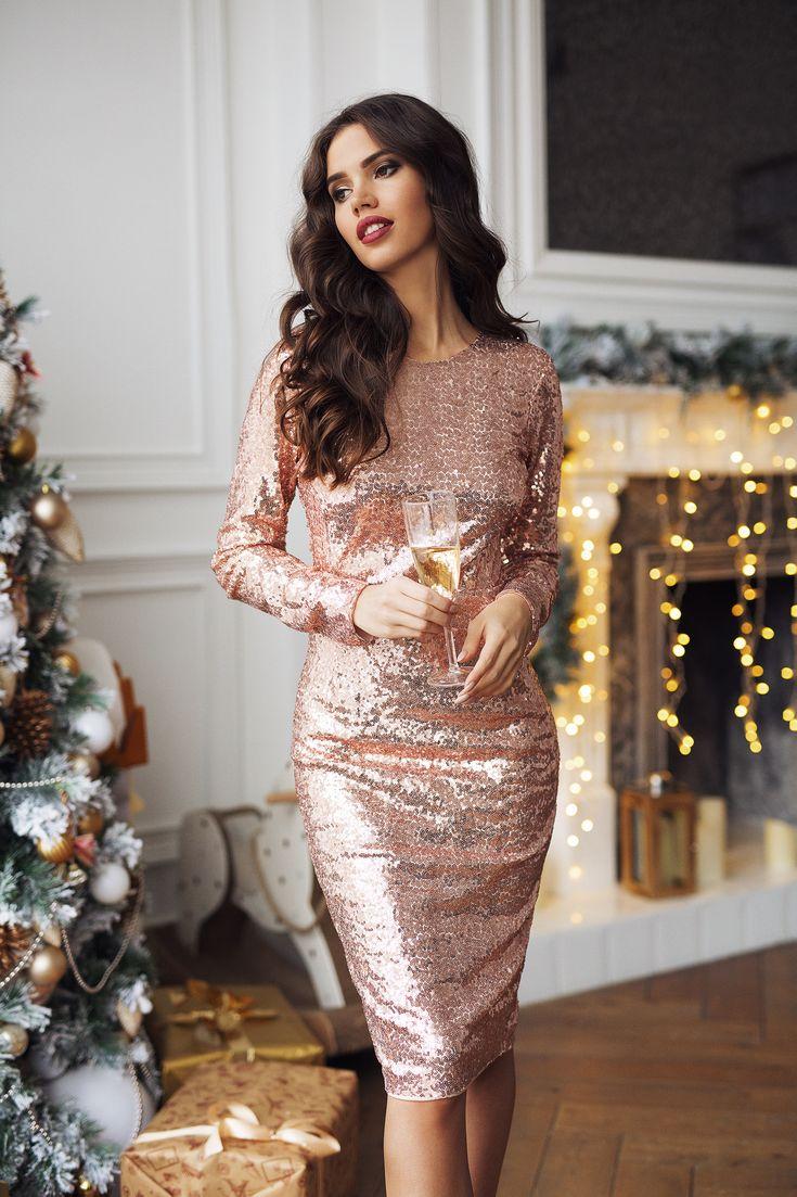 Платье на Новый год для девушки